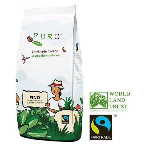 Puro Fairtrade FINO - Bohne 1.000 g