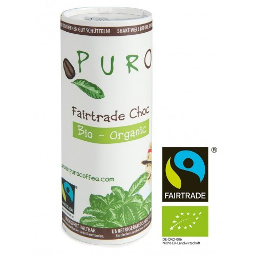 Puro Fairtrade Bio - Choc 12 x 230 ml